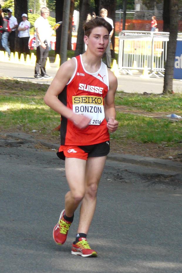 Nathan Bonzon à Rome le 7 mai 2016 [E. Tardi]